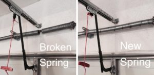 Broken Garage Door Spring Replacement Gilbert Chandler